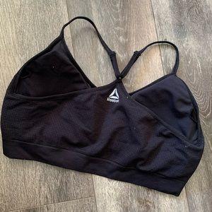5/$25 Black Reebok sports bra